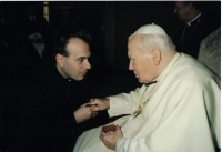 Fr. Jim and Pope John Paul II